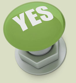 image: yes stamp